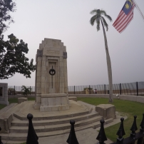 Cenotaph (yes, I need to extend my gopro selfie stick because of the fence :))