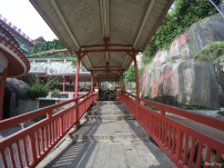 walkway to the Temple