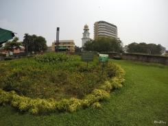 a view of Queen Victoria Memorial Clock Tower