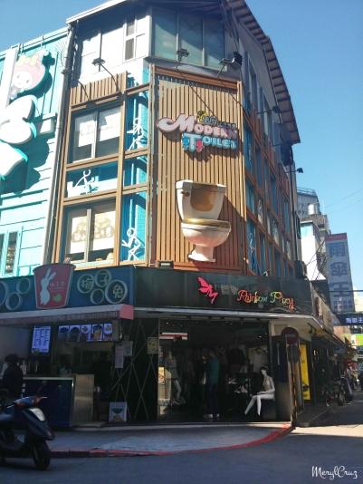 Modern Toilet Restaurant at Ximending