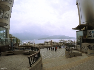Shueishue Pier in Sun Moon Lake