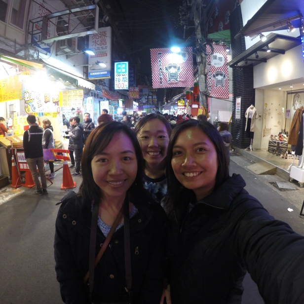 at Fengjia night market