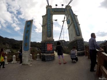 Shifen Jingan suspension bridge