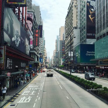 Mongkok, view from the bus