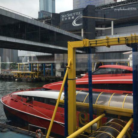 Turbo Jet going to Macau