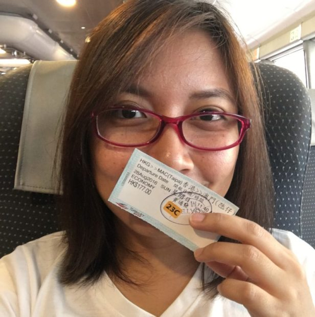 me going to Macau :)