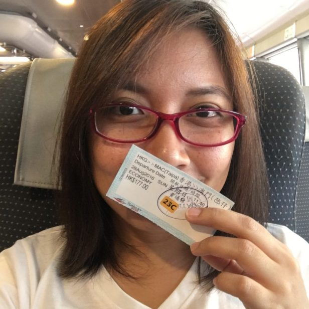 me going to Macau :)